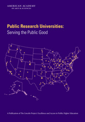 Public Research Universities: Serving the Public Good