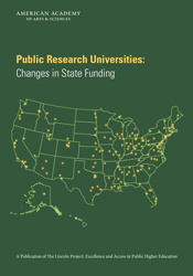 Public Research Universities: Changes in State Funding