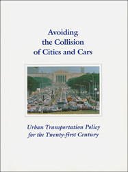 Book Cover Avoiding the Collision of Cities and Cars