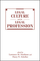 Book Cover Legal Culture and the Legal Profession