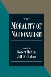 Book Cover The Morality of Nationalism