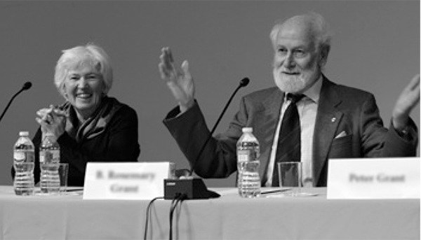 B. Rosemary Grant (Princeton University) and Peter Grant (Princeton University), speaking at the Academy's 2019th Stated Meeting.