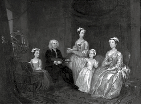 Figure 4: William Hogarth, The Wesley Family (with Anne Donnellan), 1731. Wellington Collection; Stratfield Saye Preservation Trust. Image courtesy of Stratfield Saye Preservation Trust.