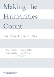 Making the Humanities Count: The Importance of Data