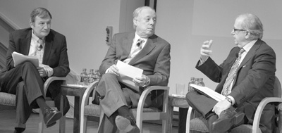 Karl Eikenberry, Philip Bredesen, and Norman Ornstein, 2012