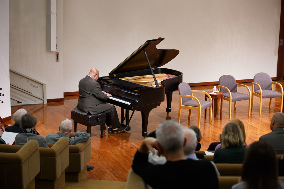 Kenny Barron performing at the Academy