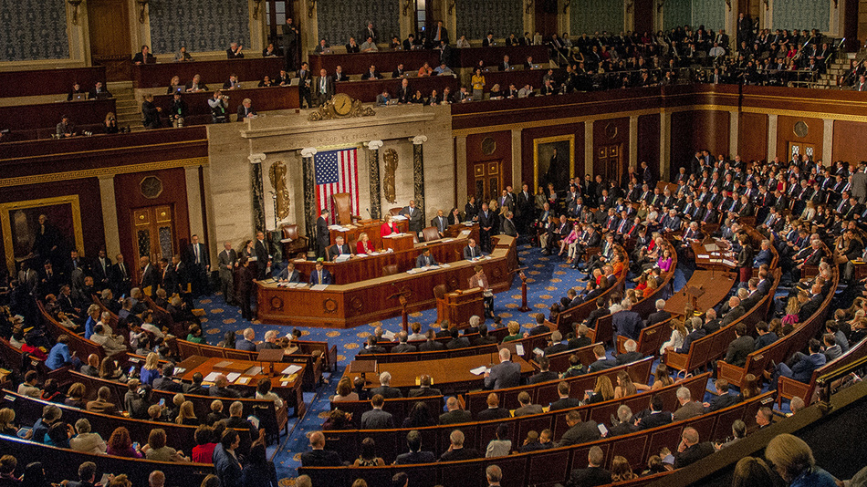The U.S. House of Representatives is called into session on opening day of the 115th Congress, Jan. 3, 2017.