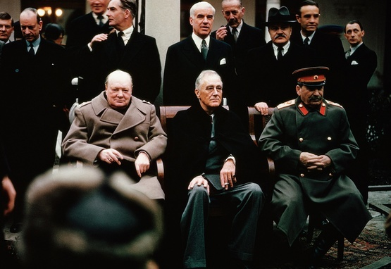 Allies Leaders Yalta Conference