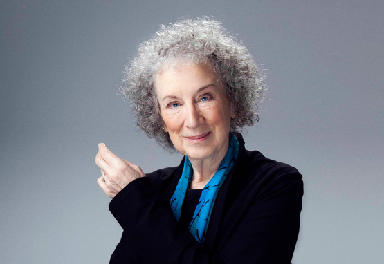Photograph of Author Margaret Atwood taken by Jean Malek