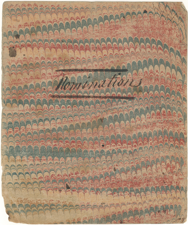 Book of Nominations, 1810-1817