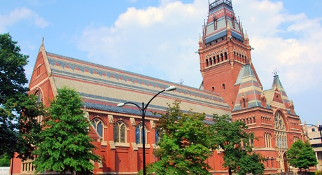 Sanders Theatre at Harvard University, Cambridge, MA